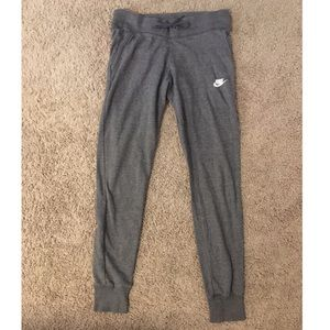 Grey Nike Women's Jogger Sweatpants